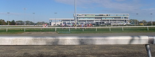 Into The Stretch In Race 2