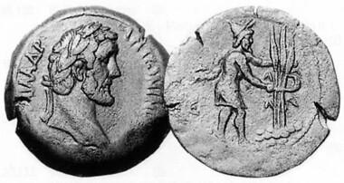 Antoninus Pius, 138-161. Tetradrachm, 141-2