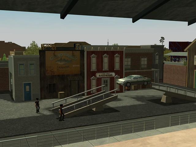 Miramar Studios Park - Alabama Cop Stunt Show Spectacular