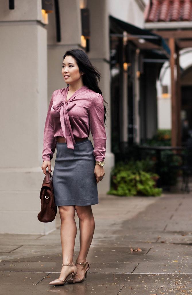 Pink  Gray - Cute  Little  Dallas Petite Fashion Blogger-8429