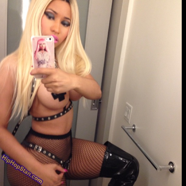nicki minaj halloween outfit costume (1)