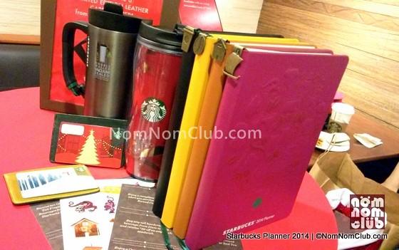 2014 Starbucks Planner