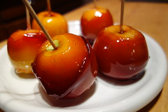 cherry, sweetness, candy apple, fruit, food, dish, dessert, apple,