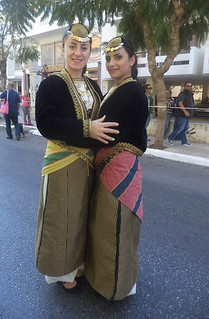 Σύλλογος Ποντίων Χανίων Η Ρωμανία παρέλαση 28ης Οκτωβρίου