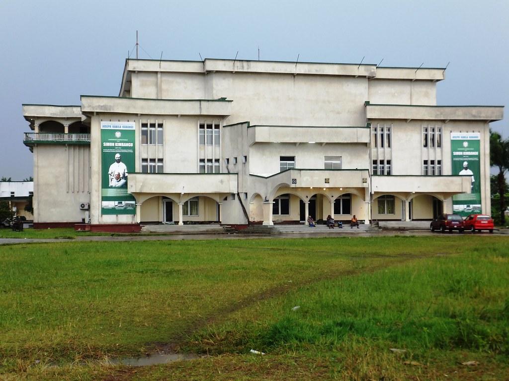 Au centre d'accueil à Kasa-Vubu (Kinshasa), l'auditorium e