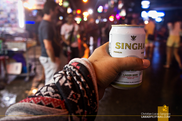 Cheap Beers at Phuket's Bangla Road