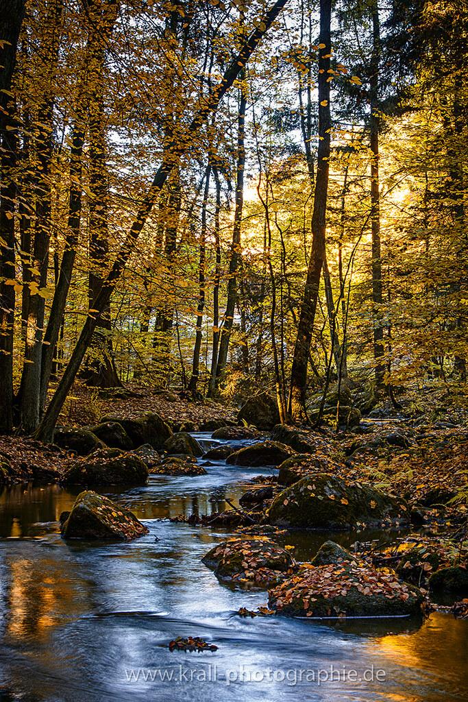 Hier fließt der Höllbach