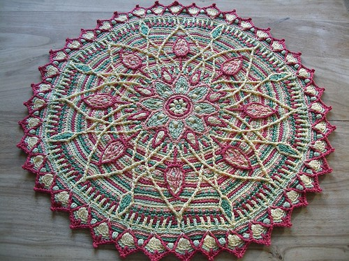Sunrise overlay crochet