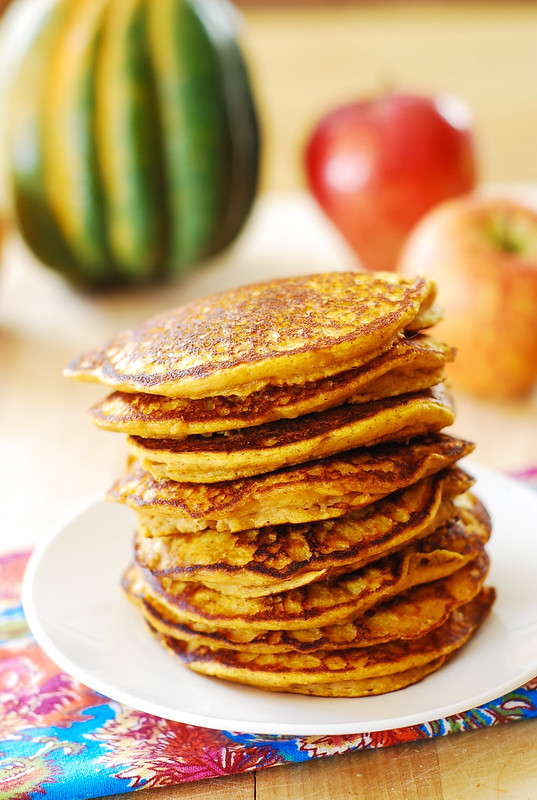 Easy pumpkin pancakes