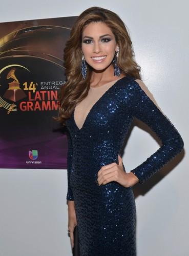 Premios Grammy Latino 2013, Miss Universo 2013, Gabriela Isler. Foto Rodrigo Varela-WireImage.com