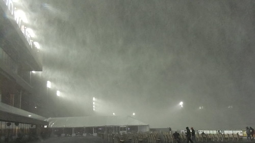 SnapShot | Crazy Snow Squall Before Race 2 #Wild #Intense