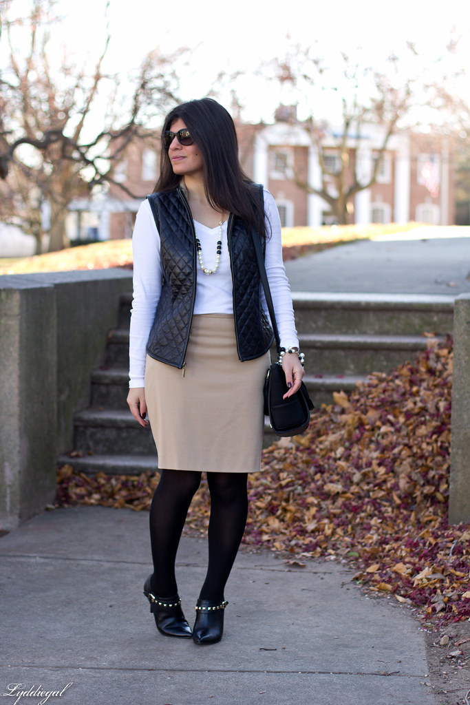 leather vest, tan pencil skirt-1.jpg