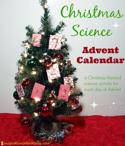 Christmas Science Advent Calendar (Photo from Inspiration Laboratories)