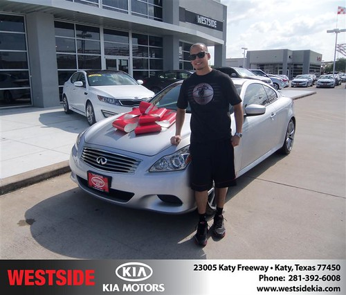 Happy Birthday to Chris Leasure from Guzman Gilbert and everyone at Westside Kia! #BDay by Westside KIA