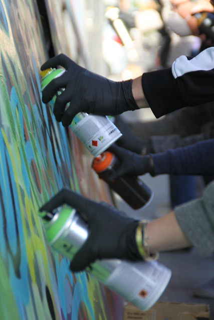 Art of Graffiti: Intro Class 12/7/13