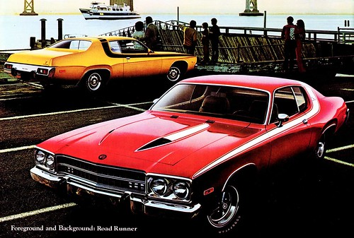 1973 Plymouth Road Runner  Brochure by Rickster G