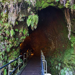 Lava tube, Volcanoes National Park