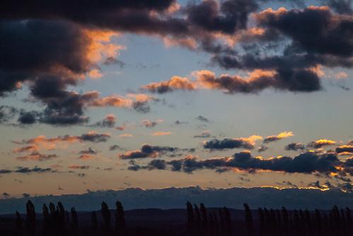 morning sun clouds sunrise landscape canon5dmarkii