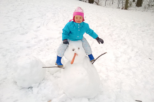 Mia The Creator and Conqueror of Snowmen.