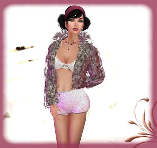 AsHmOoT_Dolls Coll_Dolly Fur_Rose by Orelana resident