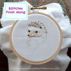 My project for the &Stitches Embroidery Finish Along