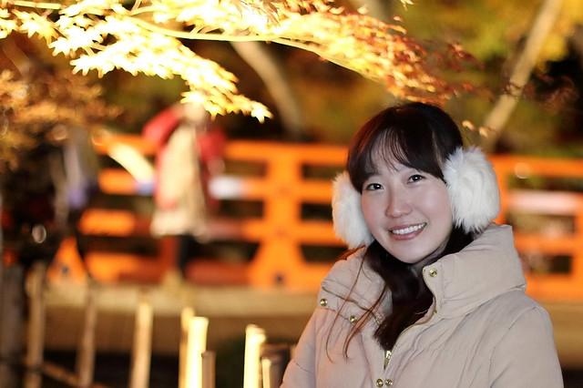 【旅遊】「北野天滿宮 Vs. 清水寺」- 就這樣看著夜楓發呆多美好啊