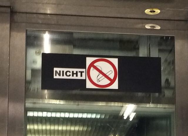 """Nicht """"Rauchverbot"""""""