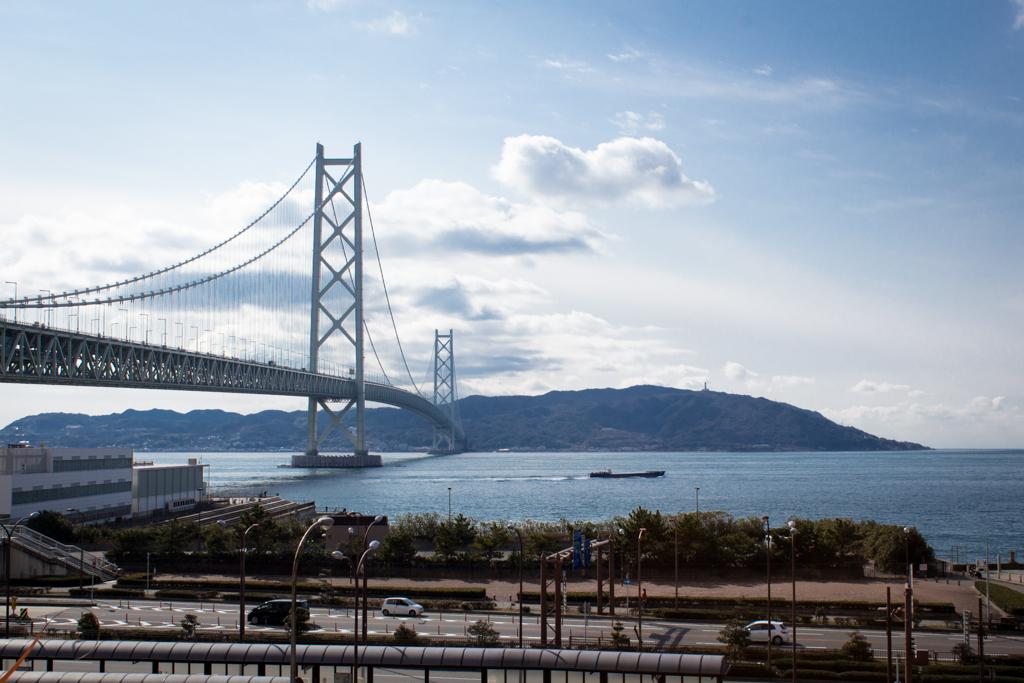 Akashi Kaikyo Bridge and Awaji Island