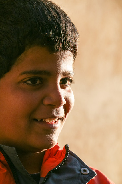 A boy in Shiraz シラーズの少年
