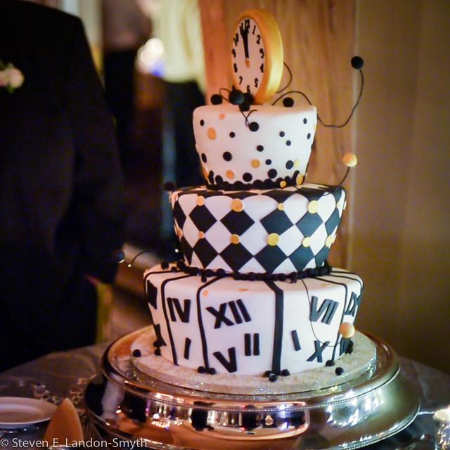 New Years Eve Wedding Cake Flickr - Photo Sharing!