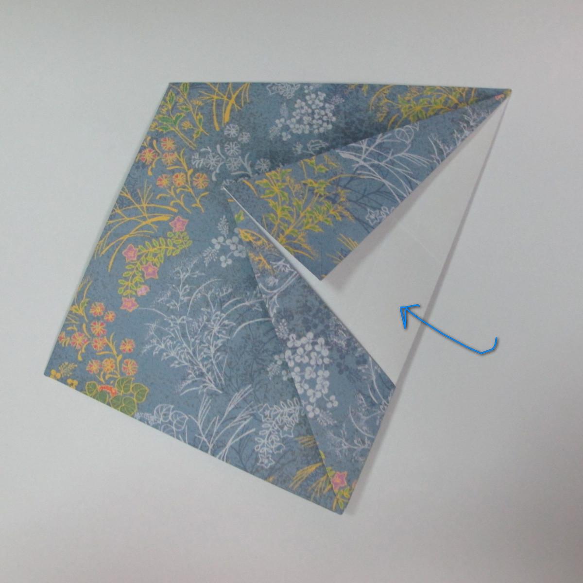 วิธีการพับกระดาษเป็นรูปม้า (Origami Horse) 025