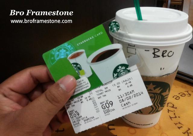Starbucks and Robocop