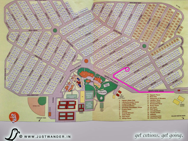PIC: Monte Vista RV Resort - Map