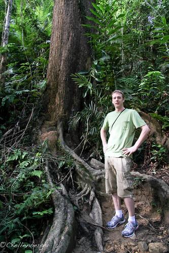 John at Poring Nature Reserve, Sabah