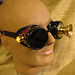 Lighted steampunk goggles by Boilermonster