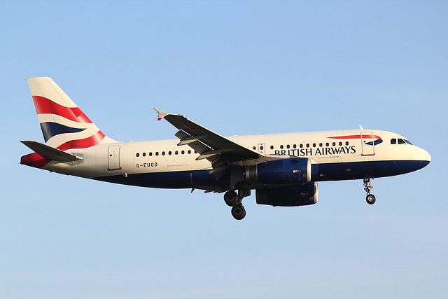 British Airways - A320 - G-EUOD (1)