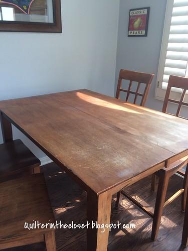 My basting table