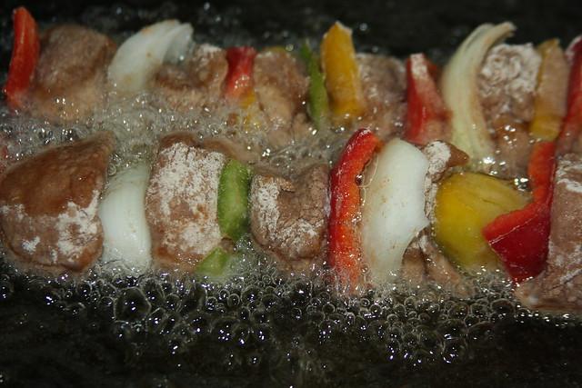 Pinchos de Pollo Frito 022