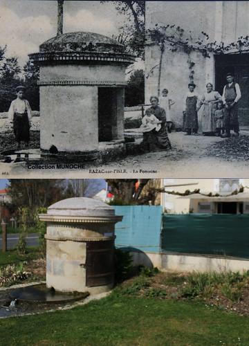 Fontaine de Razac sur l'Isle .