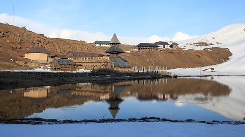 Prashar Lake Reflection