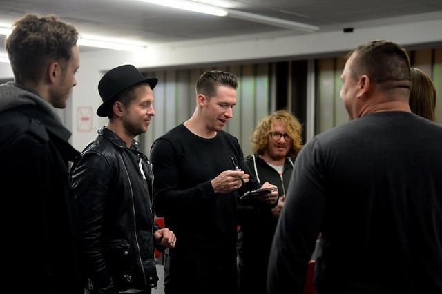 Sabers meet OneRepublic