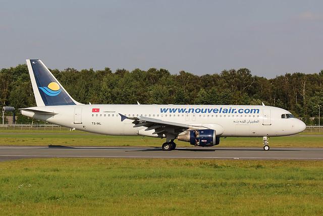 Nouvelair - A320 - TS-INL (1.5)
