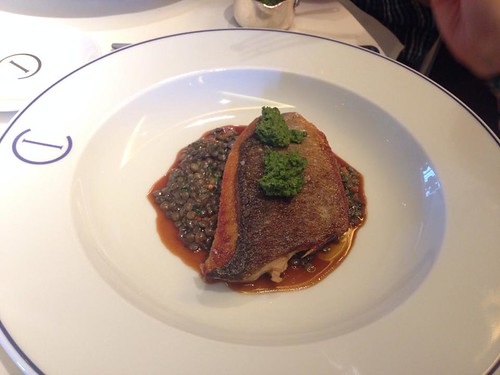 Black Bream Main Course