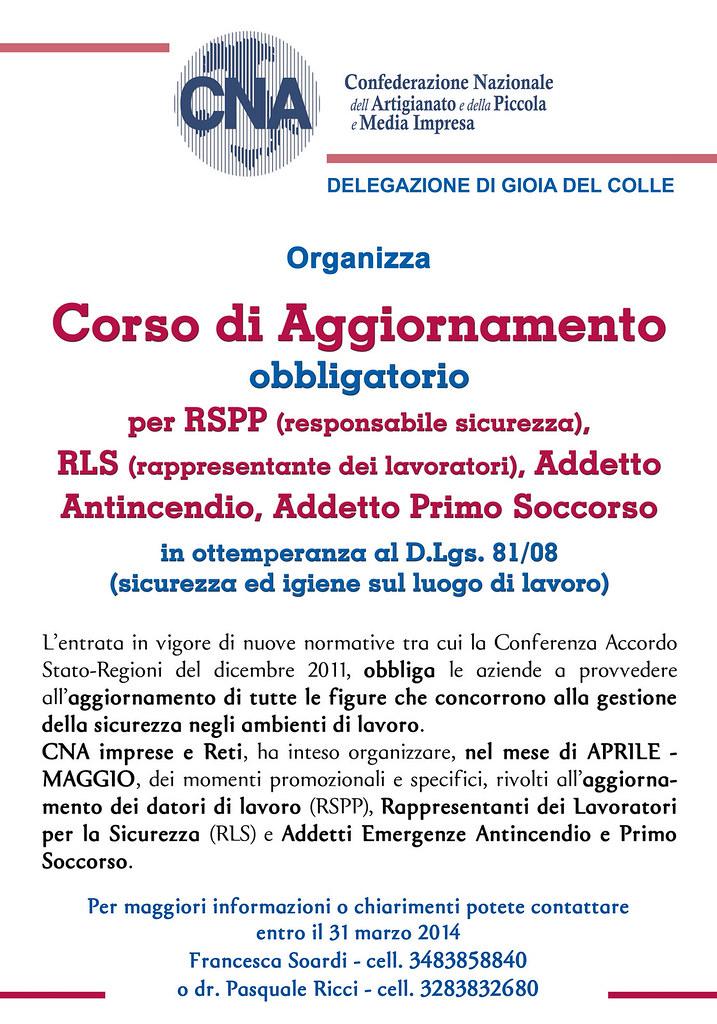 Manifesto CNA Aprile