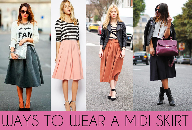 Fashion and Beauty Blog UK | How to Wear a Midi Skirt for Spring ...
