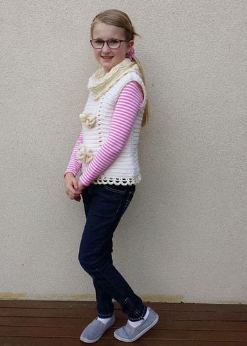 Chelsea Capelet - from Crocheting Clothes Kids Love