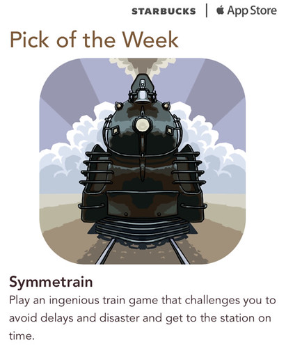 Starbucks iTunes Pick of the Week - Symmetrain