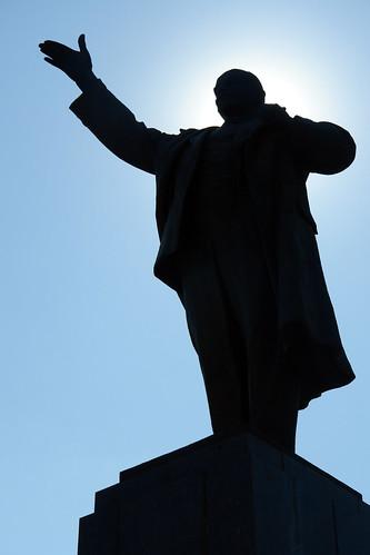 Estatua de Lenin en Irkutsk Irkutsk, la venecia siberiana de Rusia - 13830130385 762132b47e - Irkutsk, la venecia siberiana de Rusia