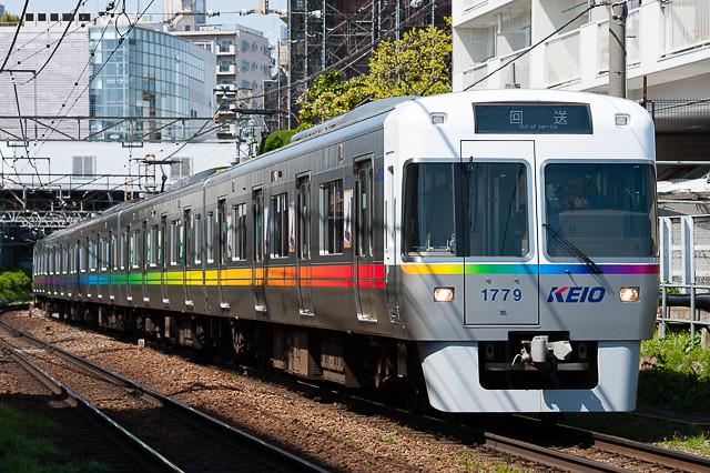 京王電鉄井の頭線1000系 1779F ファッションショーリハーサル列車