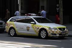 Holden Commodore station wagon for the Taxi Services Commission